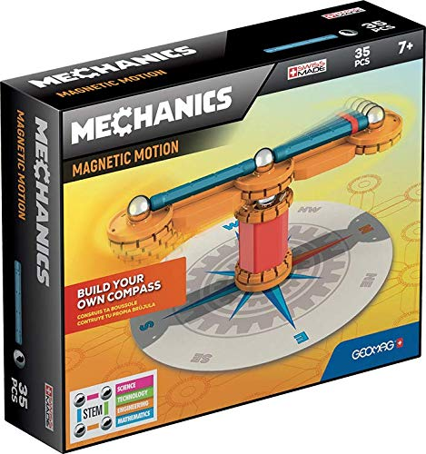 Geomag Magnetic Build Your Own Compass Educational Set 35 Piece Kids Gift Toy