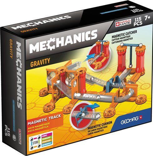 Geomag Mechanics Magnetic Track 115pcs 7+