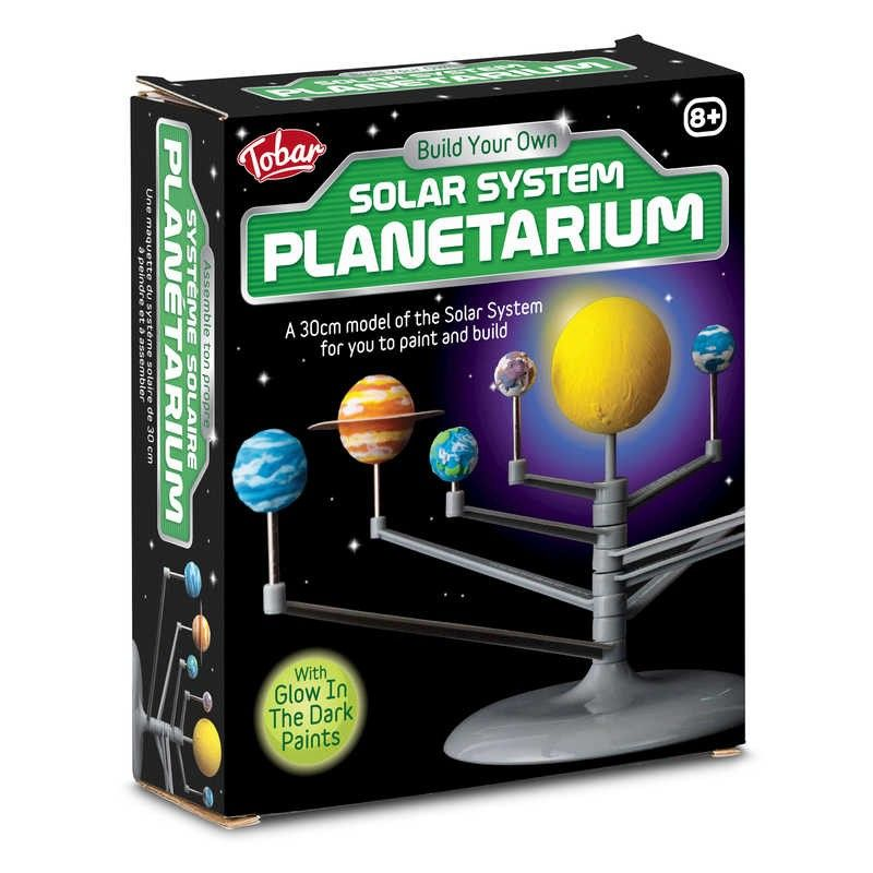 Glowing Solar System Planetarium Model Kit Kids Educational Project