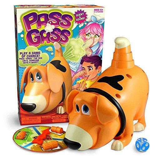 Kids Children Scentos Scented Pass Gass Dog Fart Game of Chance Board Game