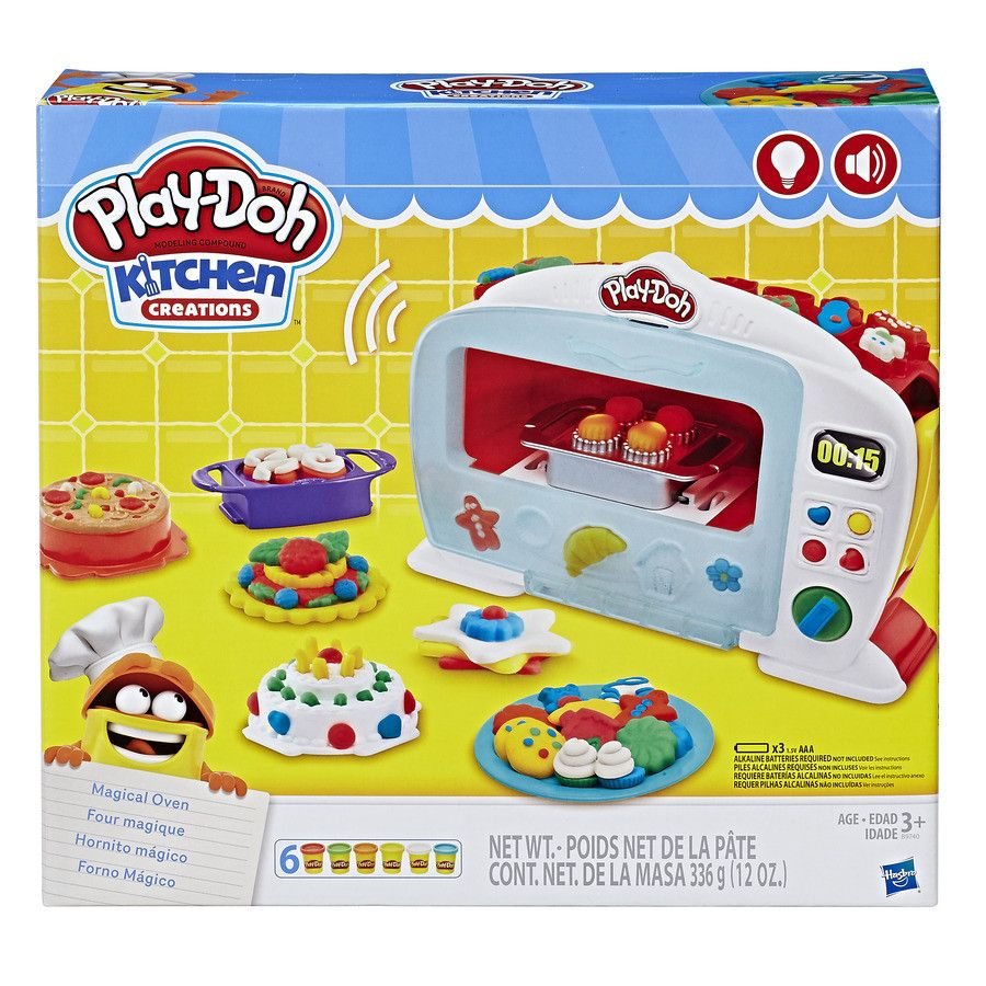 Play-Doh Kitchen Creations Magic Oven Kids Playset Toy Gift