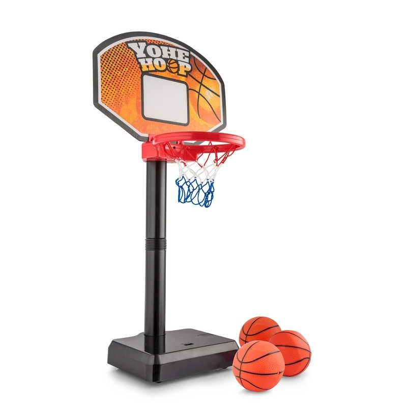 Tobar Moving Hoop Shoot Portable Basket Ball Kids Children Game