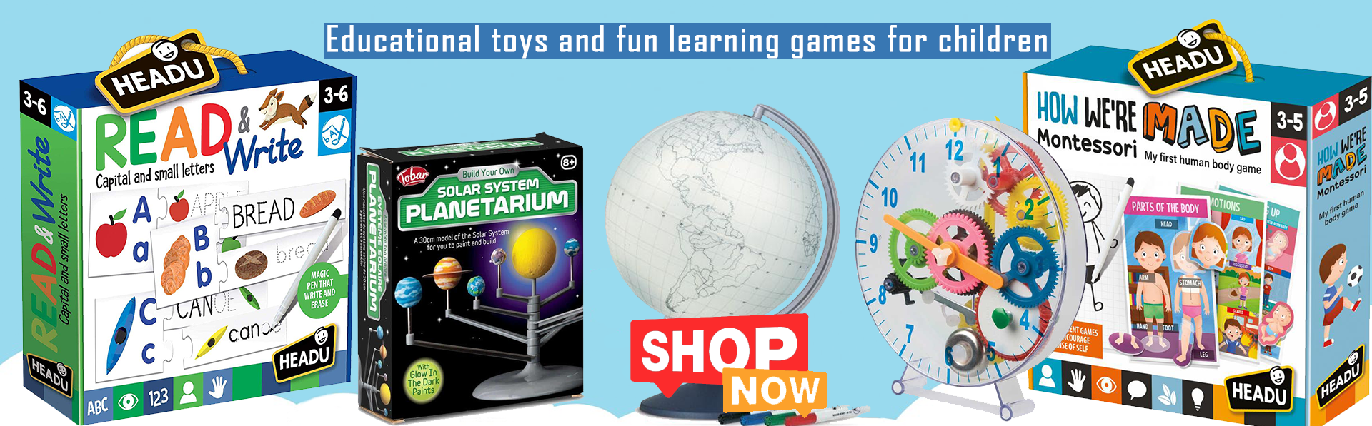 Educational toys home learning coronavirus
